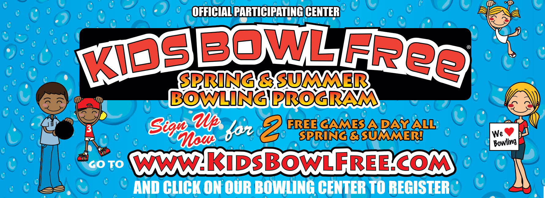 Kids Bowl Free Colony Park Lanes